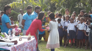 Prize Distribution & Plant sapling distribution